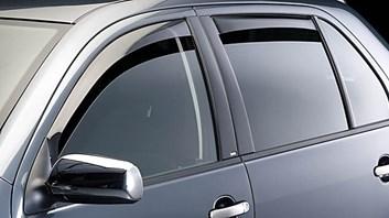 Ofuky oken Škoda Fabia II Hatchback od r.v. 2007 přední + zadní