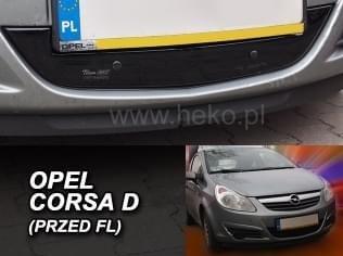 Zimní clona - kryt chladiče, Opel Corsa D, 2006-2011, před FL