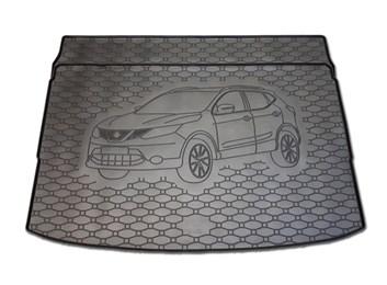 Vana do kufru gumová RIGUM Nissan Qashqai 2014- horní i dolní poloha