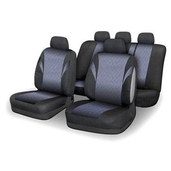 Autopotahy pestro-barevné do celého auta i pro airbag