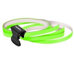 Samolepící proužky na obvod kola Foliatec - neonová zelená