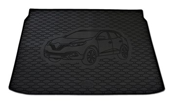 Vana do kufru gumová RIGUM Renault Kadjar horní poloha 2015-