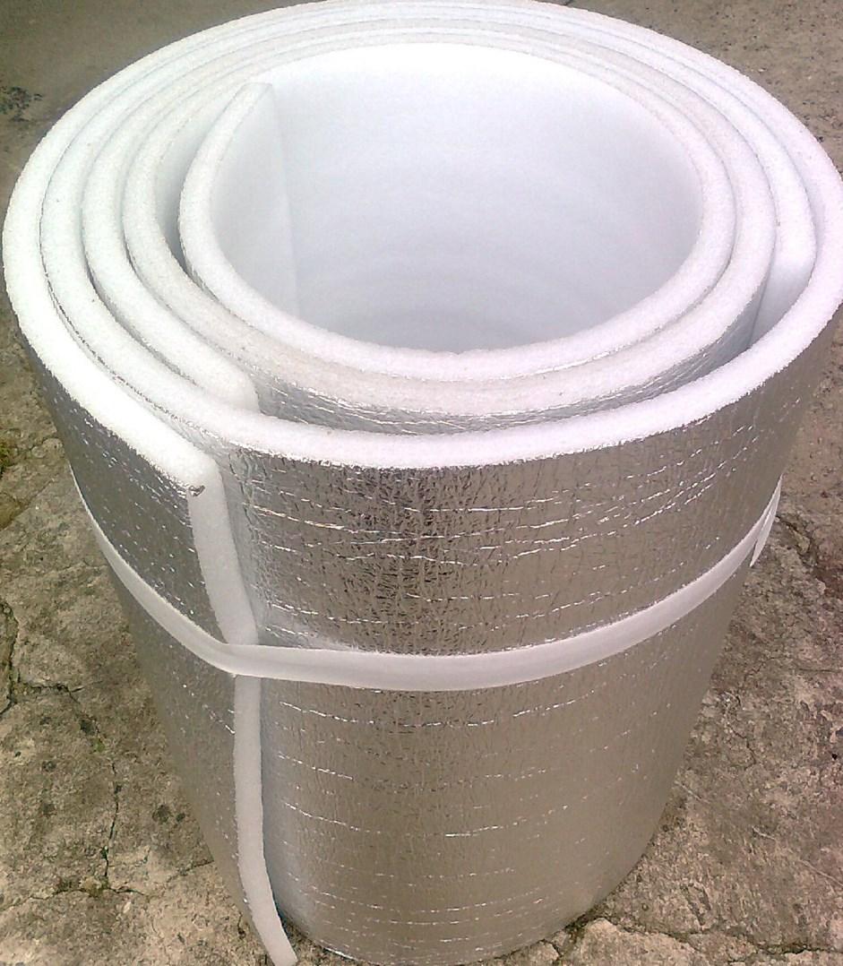 Protihluková a tepelná izolace s ALU fólií - 10 mm