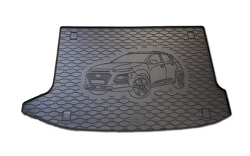 Vana do kufru gumová RIGUM Hyundai Kona 2017- Horní poloha