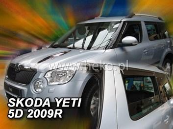 Ofuky oken Škoda Yeti 5dv od r.v. 2009 přední + zadní
