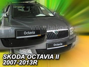 Zimní kryt chladiče Škoda Octavia II r.v. 2007-2013 dolní