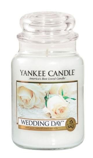 VONNÁ SVÍČKA YANKEE CANDLE WEDDING DAY CLASSIC VELKÝ