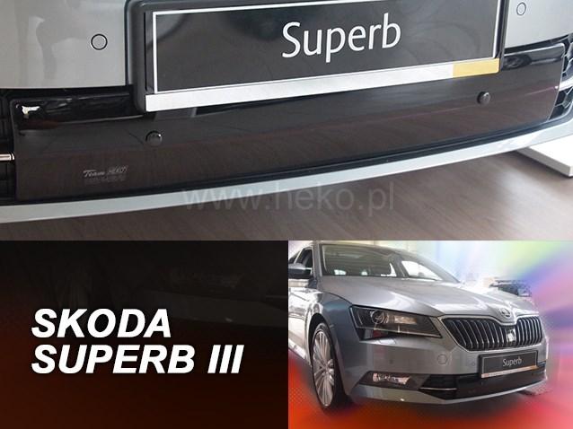Zimní kryt chladiče Škoda Superb III od r.v. 2015 dolní