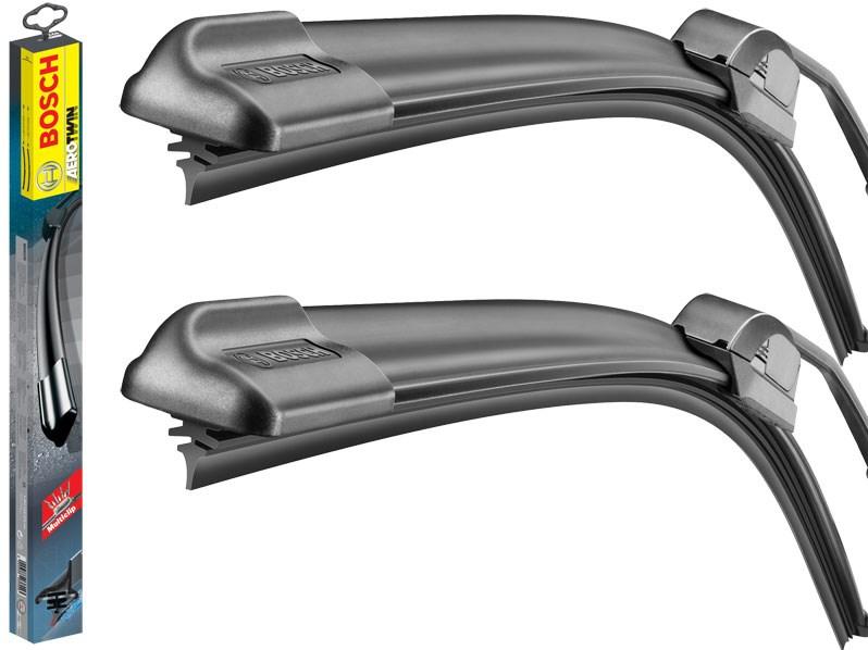 Stírací lišty stěrače BOSCH AeroTwin, sada 55 a 53 cm