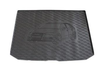 Vana do kufru gumová AUDI A3 Sportback od r.v. 2013 s logem auta