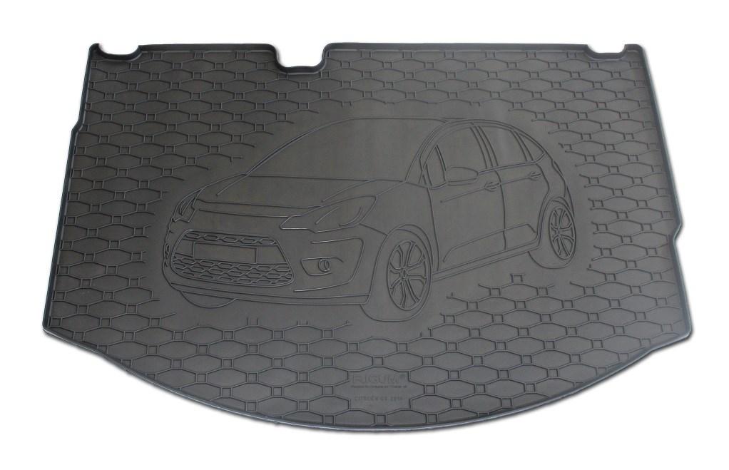 Vana do kufru gumová Citroen C3 od r.v. 2010 s logem auta
