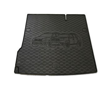 Vana do kufru gumová RIGUM Dacia Duster 4x2 2010-