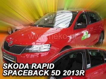 Ofuky oken Škoda Rapid Spaceback 5dv od r.v. 2012 přední+zadní