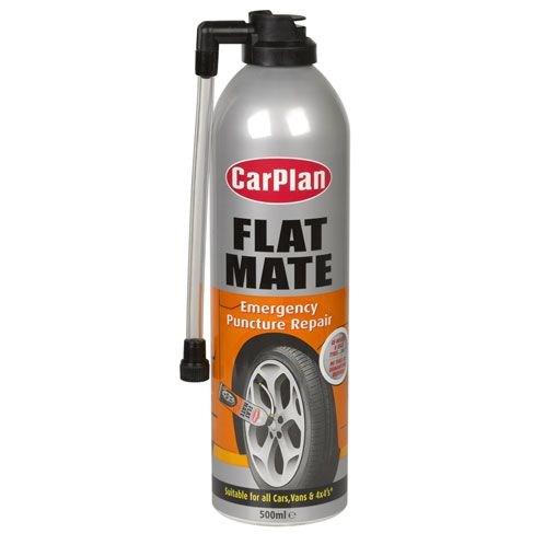 Sprej na opravu pneumatiky auta i jízdního kola na cesty i do kufru