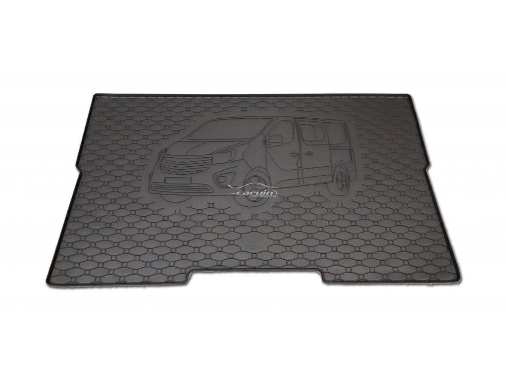Vana do kufru gumová Opel Vivaro L1 od r.v. 2014 s logem auta