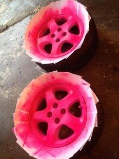 Plasti Dip sprej style růžová matná tekutá guma ve spreji 450ml