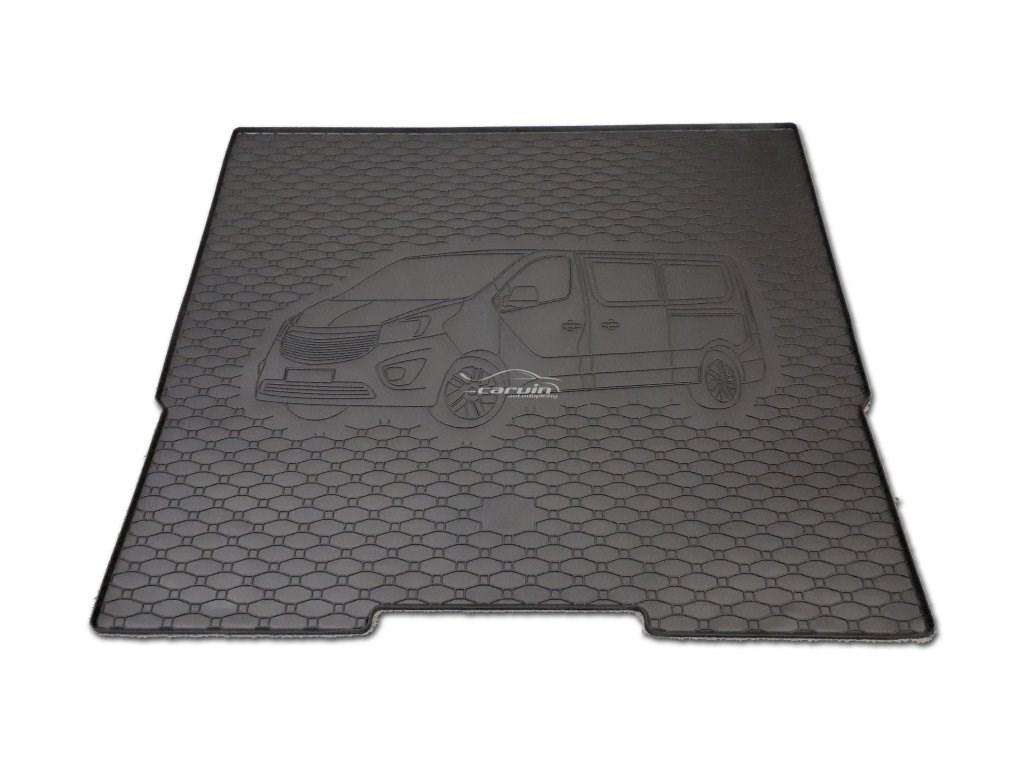 Vana do kufru gumová Opel Vivaro L2 od r.v. 2014 s logem auta