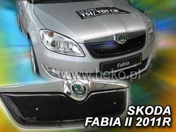 Zimní kryt chladiče Škoda Fabia II HB/Combi r.v. 2010-2015