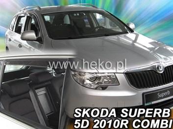 Ofuky oken Škoda Superb II Combi 5dv od r.v. 2009 přední + zadní