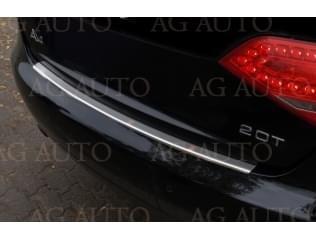 Nerezový kryt hrany nárazníku/kufru, AUDI A4 B8 8K Sedan, 2008-2012