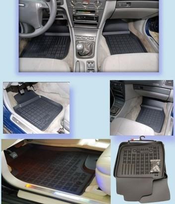 Gumové autokoberce s vysokým lemem VW Bora 1998-2005