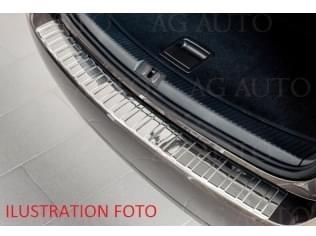 Nerezový kryt hrany nárazníku, Ford Fiesta, 2013-2017, 3 dveř., Hatchback, po faceliftu