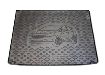 Vana do kufru gumová RIGUM Opel Astra K HB 2015- s rezervou