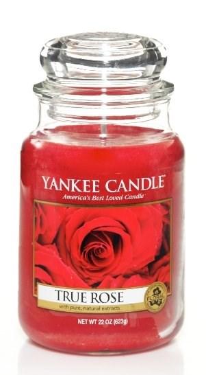 VONNÁ SVÍČKA YANKEE CANDLE TRUE ROSE CLASSIC VELKÝ