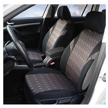 Autopotahy na sedadla celého auta airbag vzor čtverečky