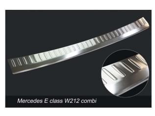 Nerezový kryt hrany nárazníku/kufru, Mercedes E-Class W212, 2013->2016