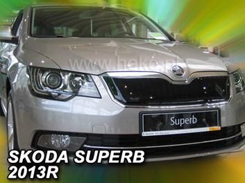 Zimní kryt chladiče Škoda Superb II od r.v. 2013 po faceliftu