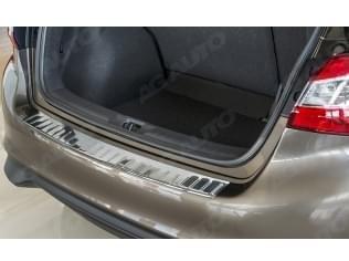 Nerezový kryt hrany nárazníku/kufru, Nissan Pulsar, 2014->