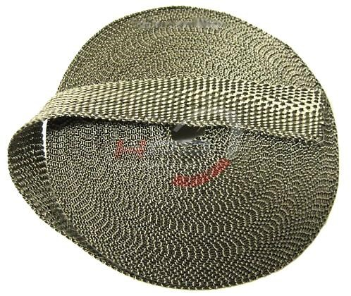 Termo izolační páska na svody a výfuk 5cm x 10m titanová