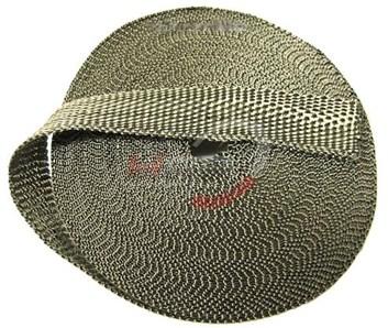 Termo izolační páska 50mm x 10m titanová na výfuk svody