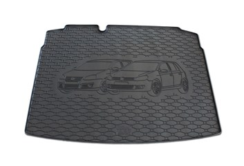 Vana do kufru gumová RIGUM Volkswagen Golf V Hatchback 2003- dojezdové kolo/opravná sada