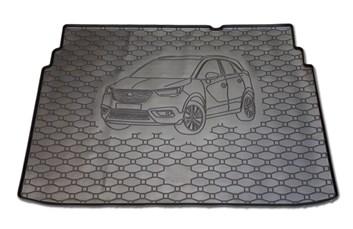 Vana do kufru gumová Opel Crossland X 2017- horní i dolní poloha