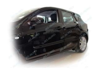 Ochranné boční lišty na dveře, Mazda 3, 2004->