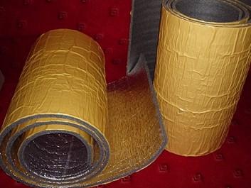 Protihluková a tepelná izolace samolepicí s alu vrstvou 10mm 100x50cm