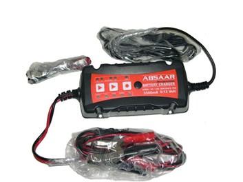 Nabíječka akumulátoru ABSAR 6V/12V 3,5A inteligentní, vodotěsná