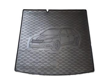 Vana do kufru gumová RIGUM Škoda Fabia III Combi 2014- dolní