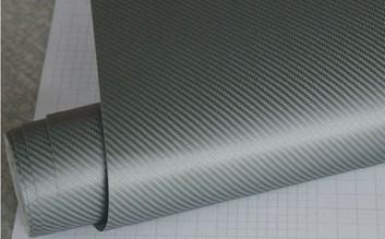 Carbonová fólie vojenská zelená 3D 150x180cm matná samolep