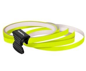 Samolepící proužky na obvod kola Foliatec - neonová žlutá