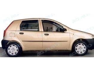 Ochranné boční lišty na dveře, Fiat Punto II, 1999->2011, 5 dveř.