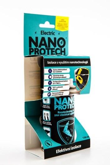 Nano ochrana elektrických obvodů a součástí před vodou