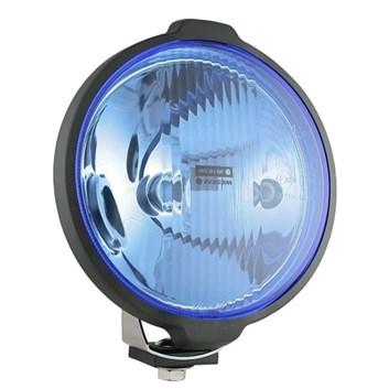 Světlo dálkové H3 modré kulatý světlomet s parkovací žárovkou Homologace