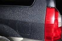 Fólie na sloupky dveří a prahy auta černá silná matná 11x100cm