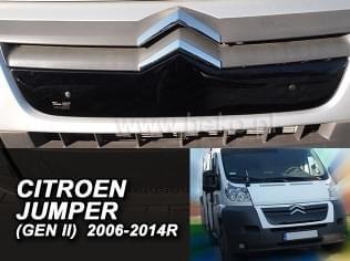 Zimní clona - kryt chladiče, Citroen Jumper, 2006->2014