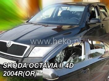 Ofuky oken Škoda Octavia II Limousine r.v. 2004-2013 přední+ zadní