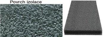 Protihluková a tepelná izolace - panel síla 40mm na 100x100cm