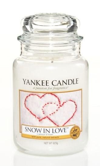 VONNÁ SVÍČKA YANKEE CANDLE SNOW IN LOVE CLASSIC VELKÝ
